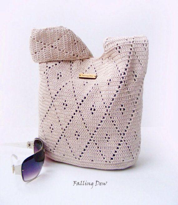 Accessories Handbag / Purse Summer Bag Beach by FallingDew on Etsy