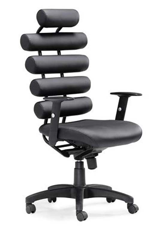 If Unique Is The Aim Black Office Chair Office Furniture