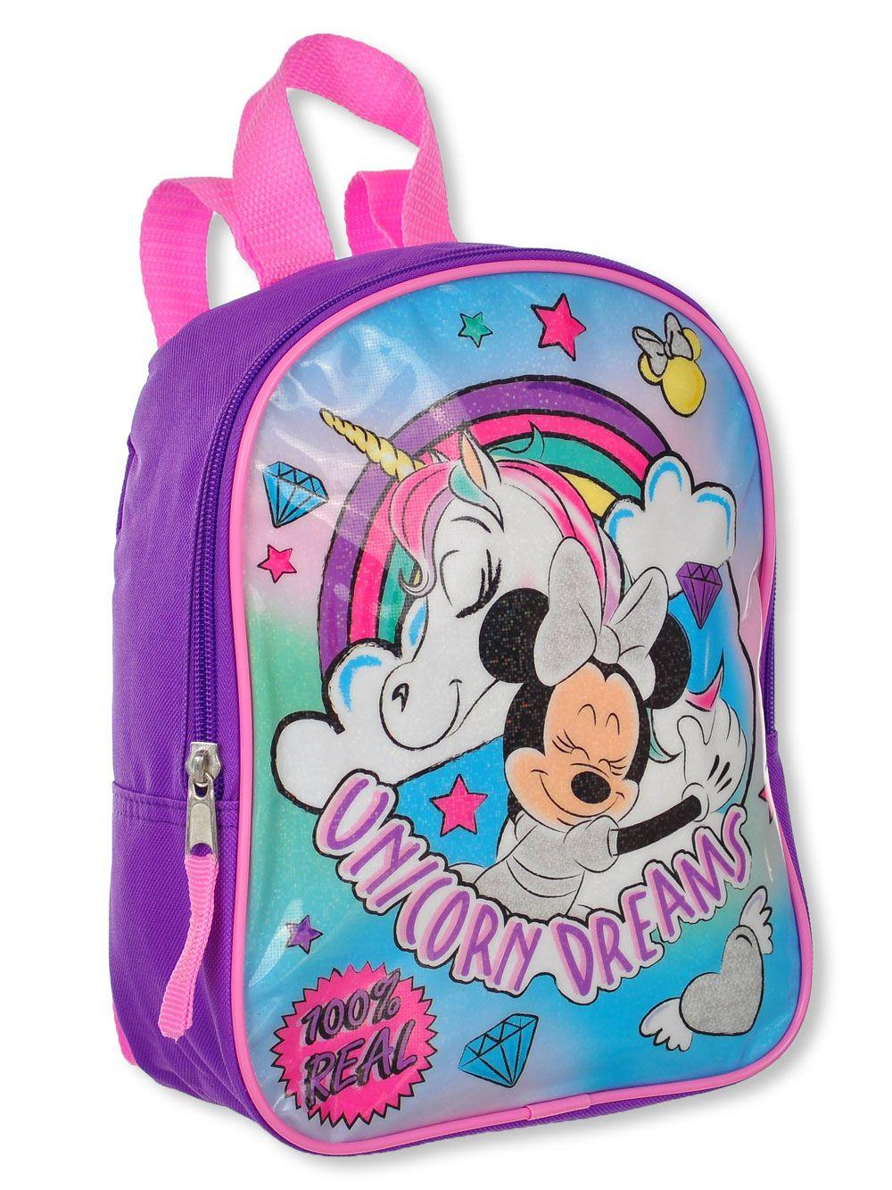 Girls Kids Nursery Toddler Minnie Mouse Kindergarten Mini Backpacks School Bags