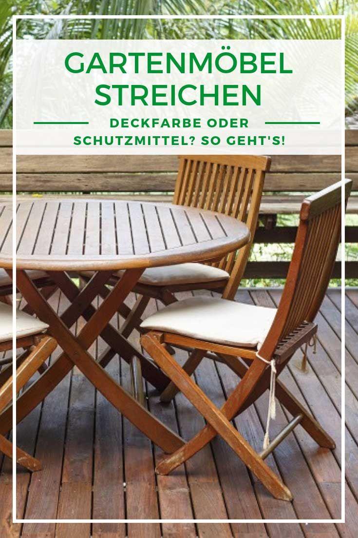 Gartenmobel Streichen Schutzmittel Oder Farbe Wir Zeigen Wie Es Geht Gartenmobel Streichen Gartenmobel Gartenmobel Sets