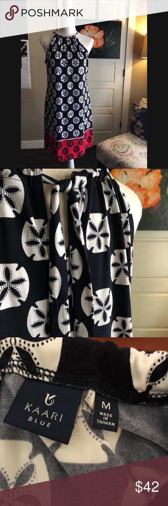 Kaari Blue Sand Dollar Dress Nwot Boasting A Fun Sand Dollar Design With A Contrast Border Print This Halter Dress Dollar Dress Clothes Design Women Shopping [ 1740 x 580 Pixel ]