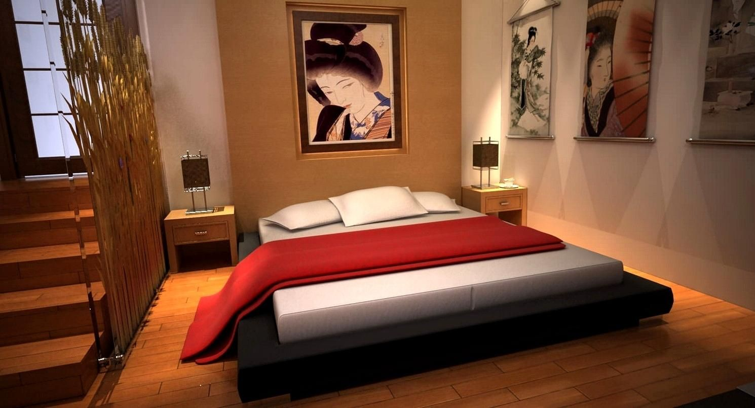 48 Awesome Japanese Bedroom For Your Home. The home is ...