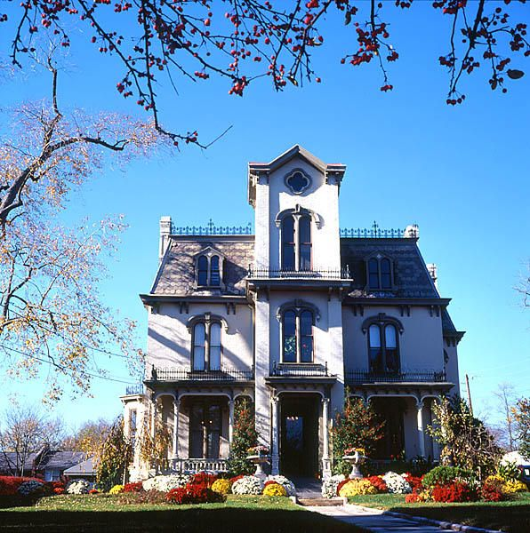 A Historic Mansion Now Used By A Business In Downtown