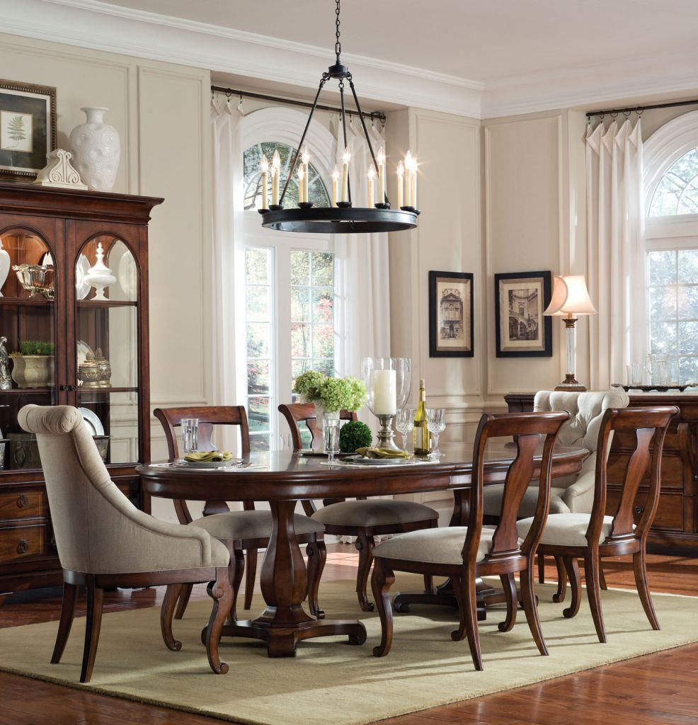 formal oval dining room sets. Home Gallery Furniture for Formal Tables  7 pc Margaux Oval Double Pedestal Table Dining