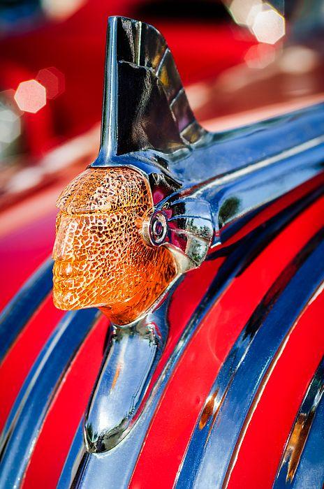 1951 Pontiac Chief Hood Ornament by Jill Reger