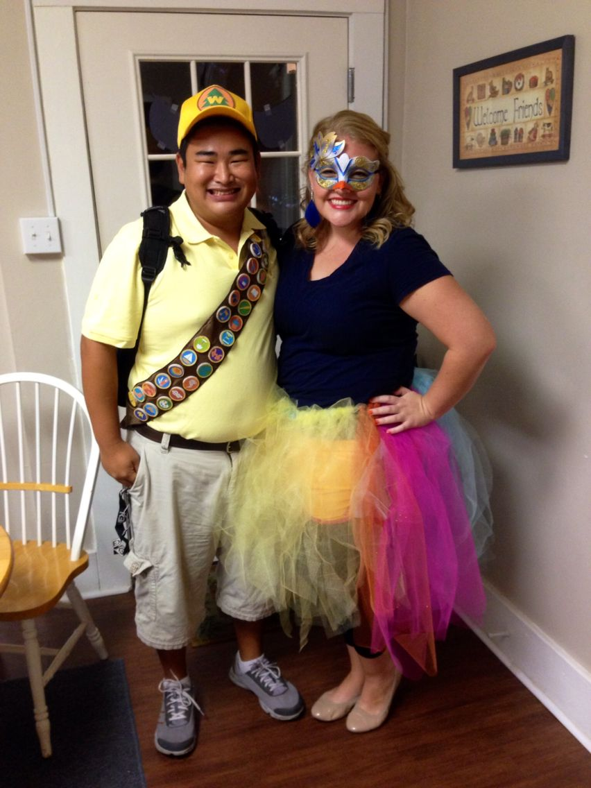 c990e4c5fd8 Russell and Kevin from Disney Pixar's movie Up! Halloween costume ...