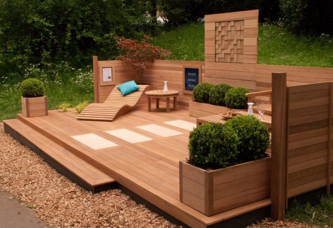 Deck Planter Box Dimensions
