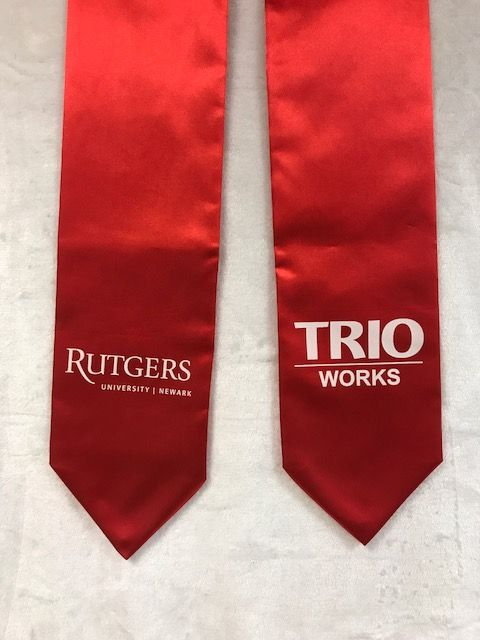 Graduation Stole Rutgers University Newark Trio 6 22 2017 Graduation Stole Rutgers University Stoles