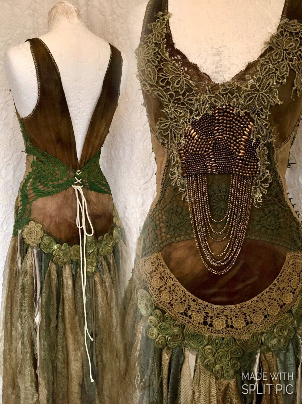 Sold down payment wedding dress forest queenboho wedding