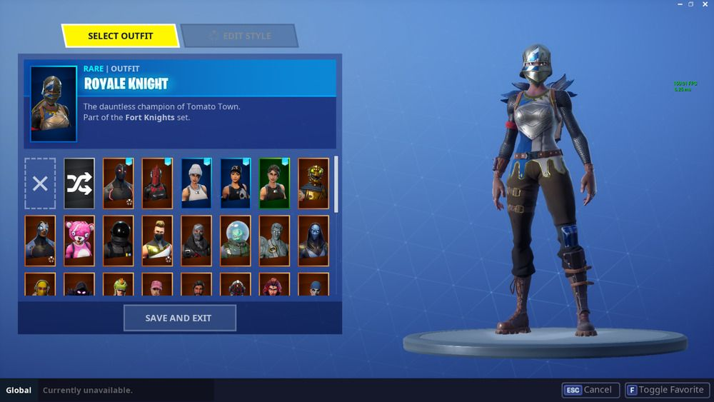 fortnite account  stacked save the world   royale knight