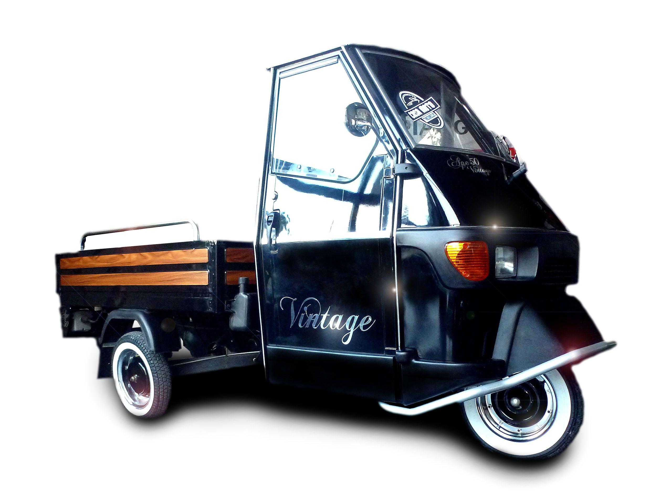 piaggio ape 50 vintage pritschenversion by casa moto. Black Bedroom Furniture Sets. Home Design Ideas