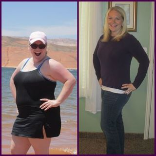 My good friend, Jen.. another personal client..70 lbs free-er!!! LOVE LOVE THIS!