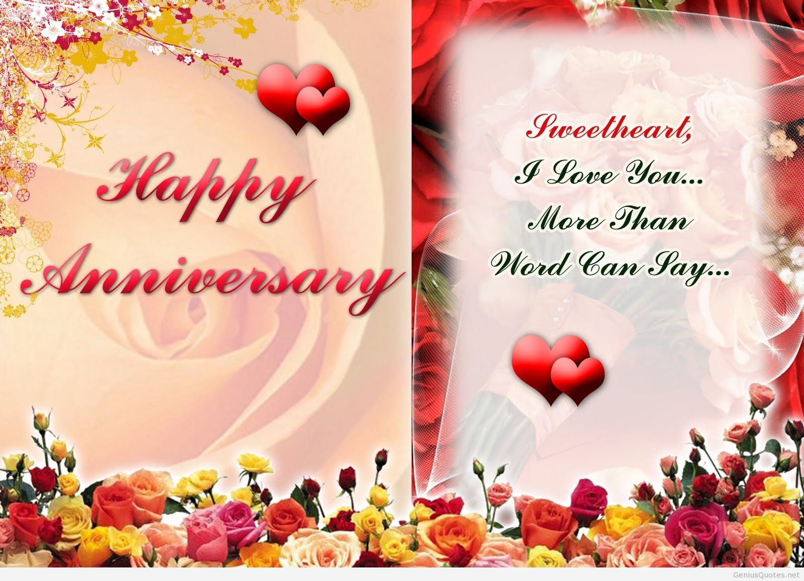 Happy anniversary hd wallpaper with quote anniversary pinterest