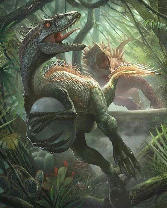 ไม่มีคำอธิบายรูปภาพ #prehistoriccreatures