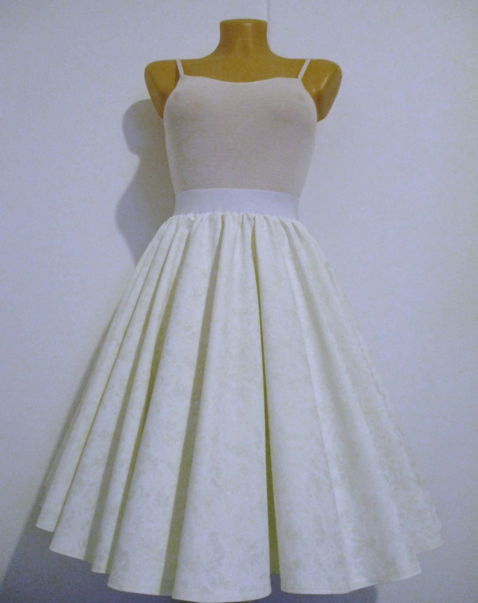 Sukně+kolo+bílá+batika+Retro+kolová+sukně+z+kvalitní+pevné+bavlny.+V ... 1323f04a50