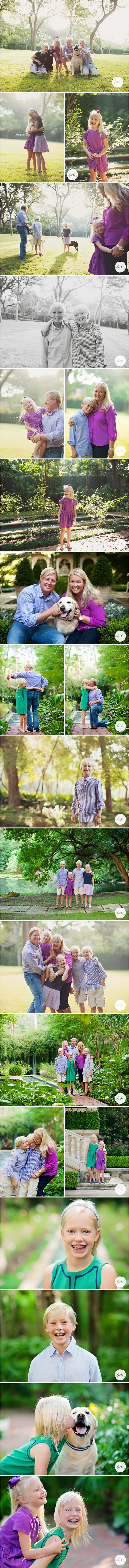 Oh this family - just love each and every one (including the furry ones)! | Lark Austin Family Portraits
