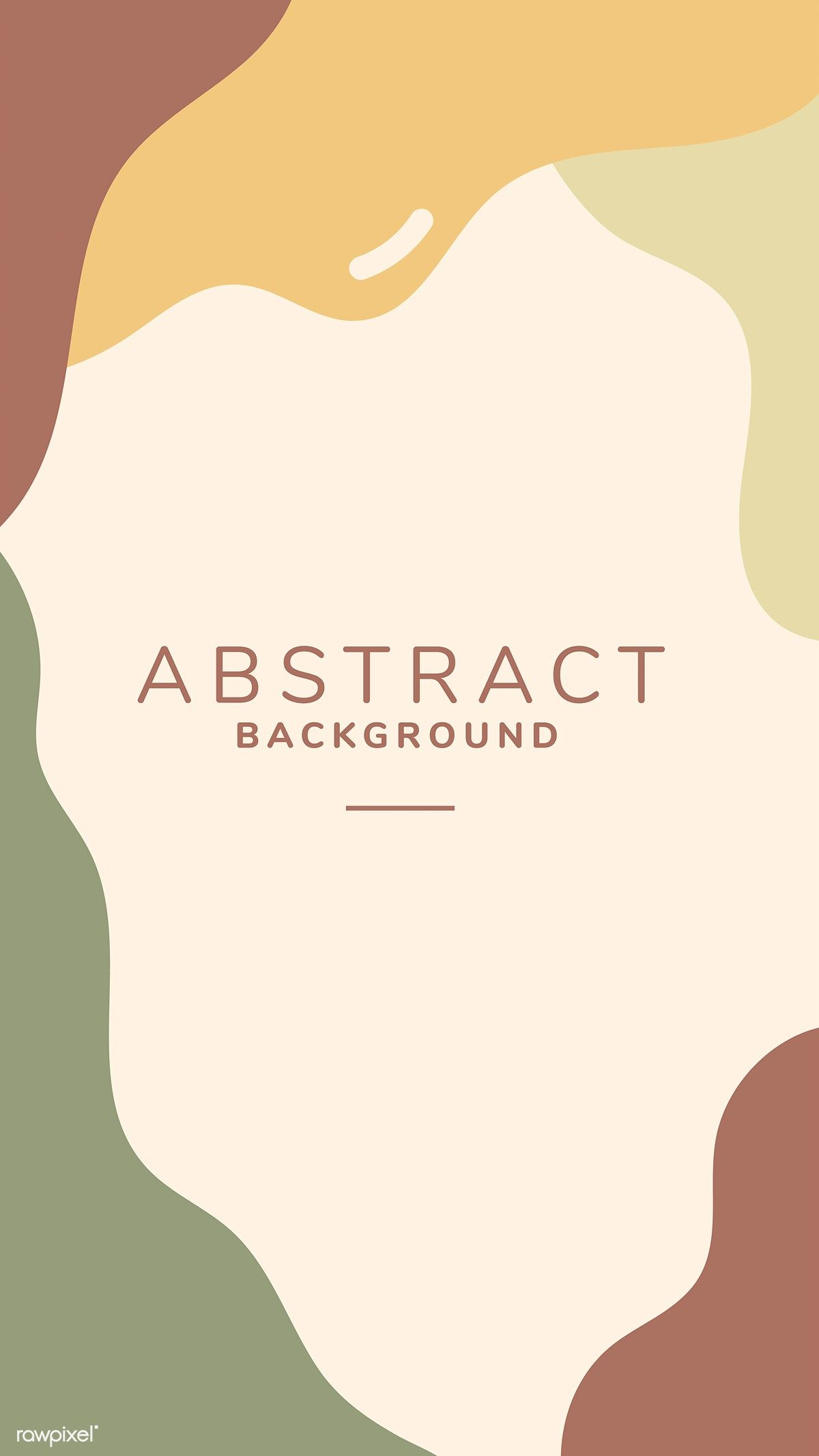 Download premium vector of Earth tone abstract print background vector