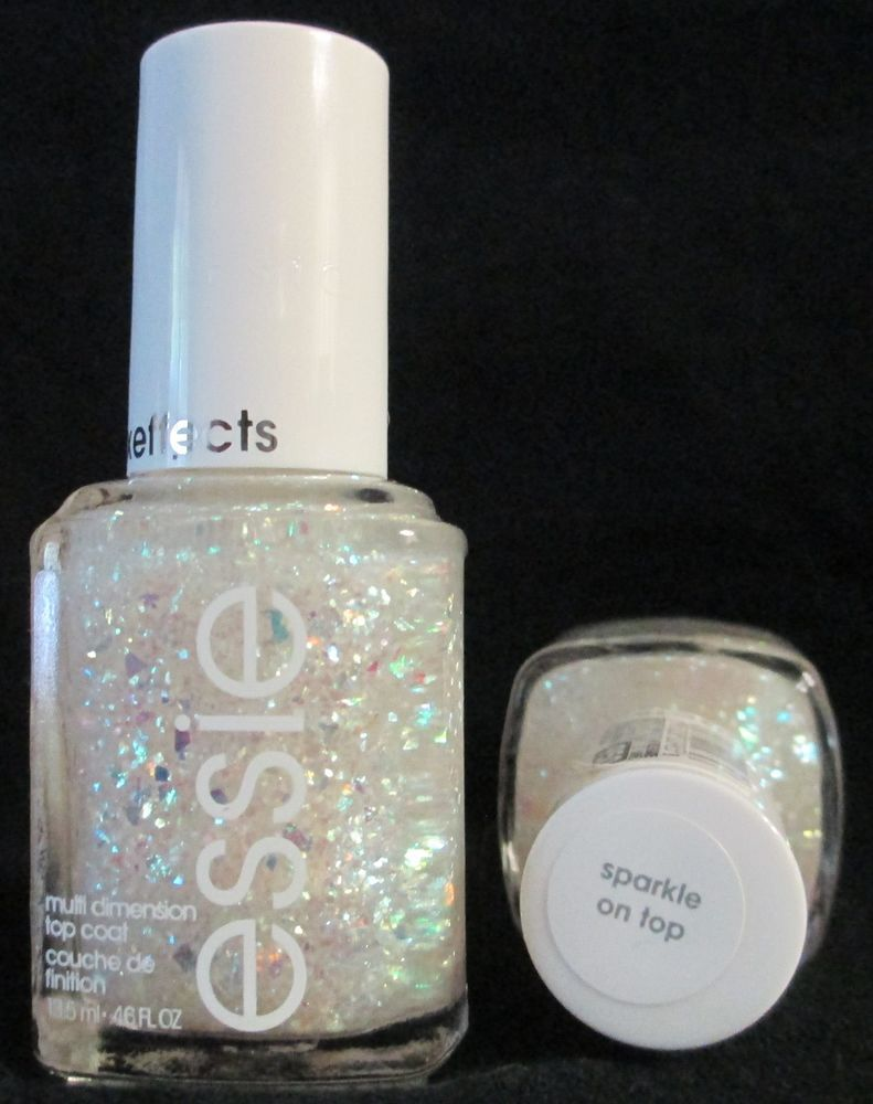 fe3dcab45 Essie Luxeffects Nail Polish Sparkle On Top  950 Holographic Glitter ...