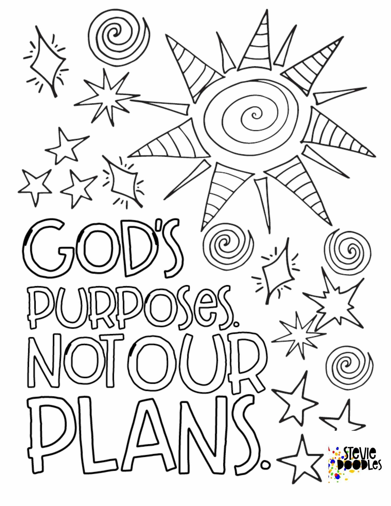 4 Free Coloring Pages Experiencing God Unit 2 Stevie Doodles Free Printable Coloring Pages Bible Verse Coloring Page Free Coloring Pages