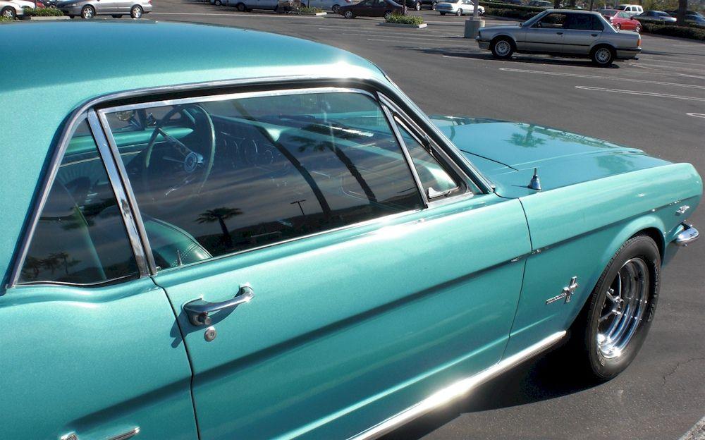 Tahoe Turquoise Blue 1966 Ford Mustang Hardtop Mustangattitude