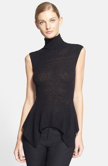 Lanvin Sleeveless Lightweight Turtleneck Sweater | Gotta have it ...