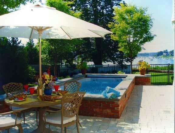Backyard Swim Spa Ideas | Love The Small Swim Spa | Dreamy Backyard Ideas!