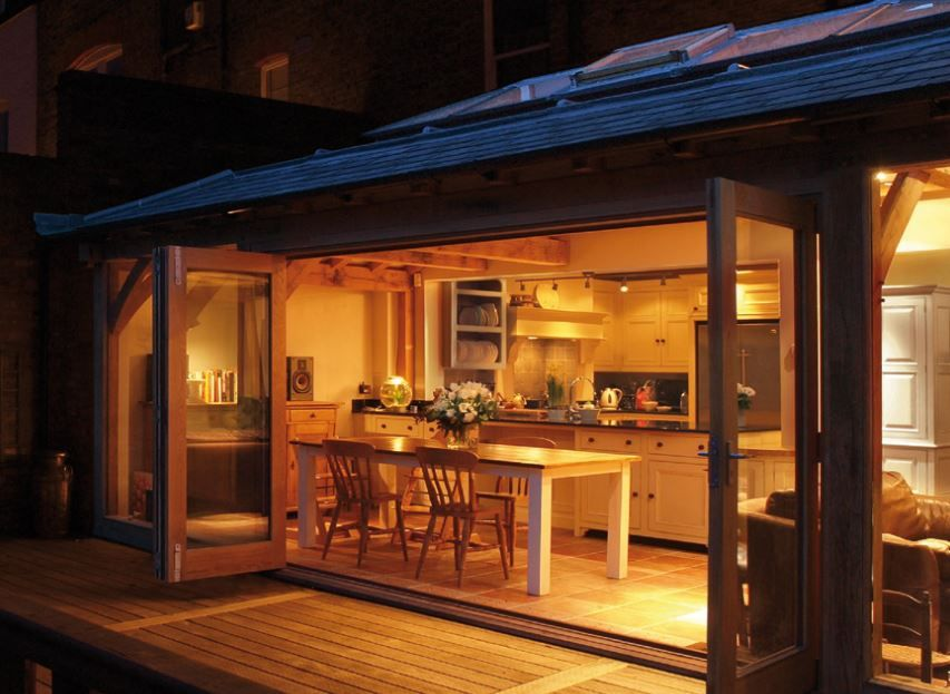 I Want A Warm Cozy Kitchen That Easily Opens To The Backyard