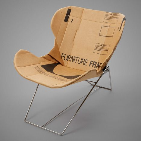 Beautiful RE PLY RECLINER BY DAN GOLDSTEIN. Love The Use Of Heavy Corrugated  Cardboard Labeled U0027FURNITUREu0027! So Many Ways You Can Take This Idea And  Apply It To Other ...