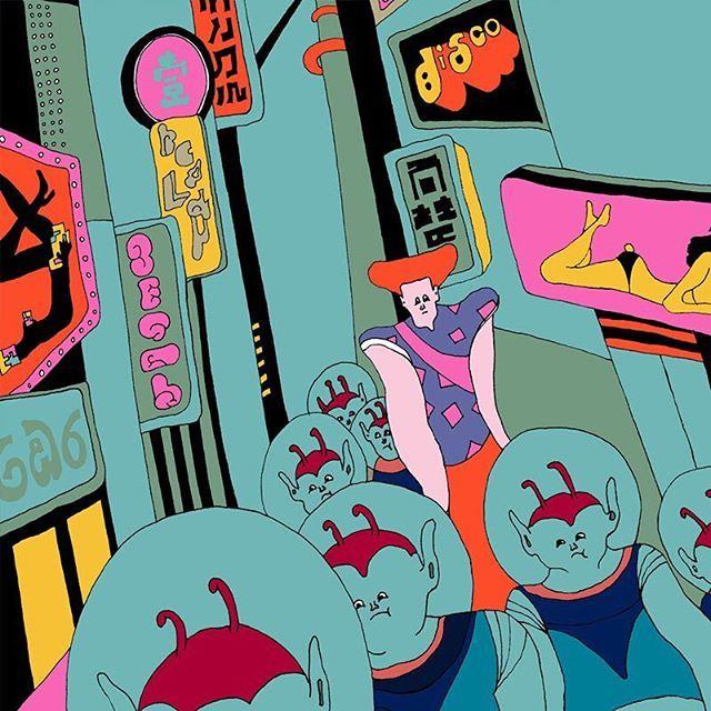 """colony""🌏💫#wakanayamazaki #artwork #scifi"