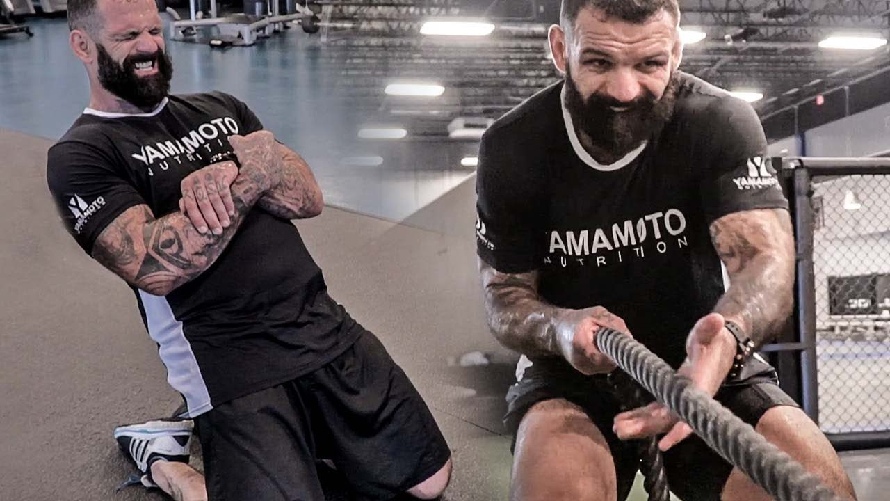 POWER Endurance & SPEED Strength Workout For MMA With