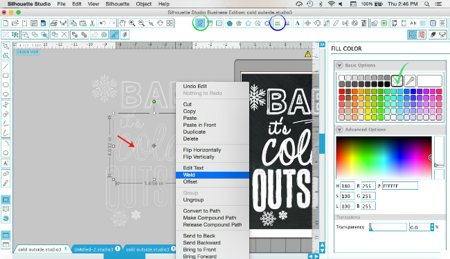 How to Turn Any Font into Chalkboard-Style in Silhouette Studio ~ Silhouette School