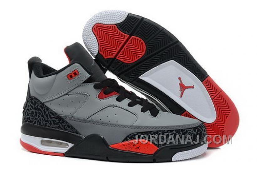 170d6d40458 Authentic Cheap Air Jordan 4 High Quality grey black red white shoe jordan  retro 4 iv
