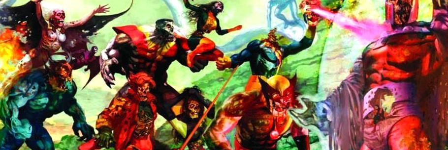 Marvel zombies dead days preview comic vine in 2020