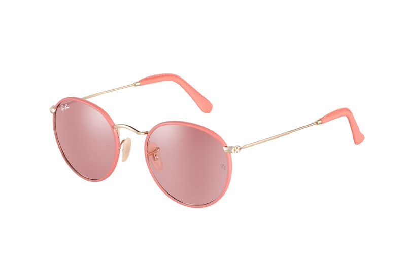 lentes ray ban rosados