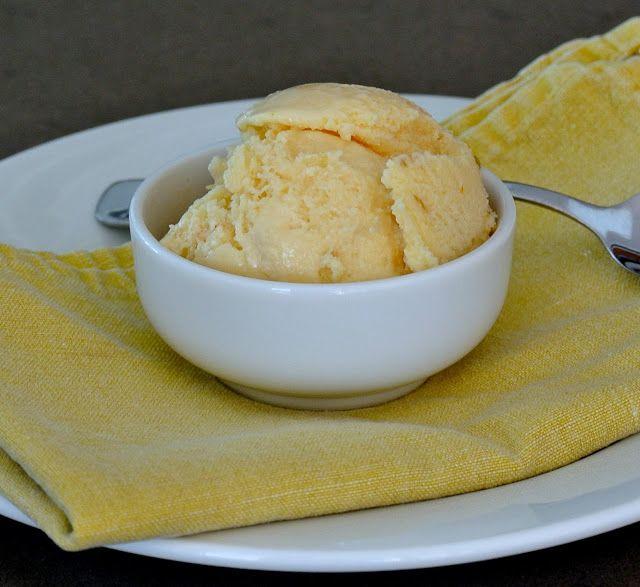 Bimby Orange Ice Cream Orange Ice Cream Thermomix Desserts Thermomix Recipes