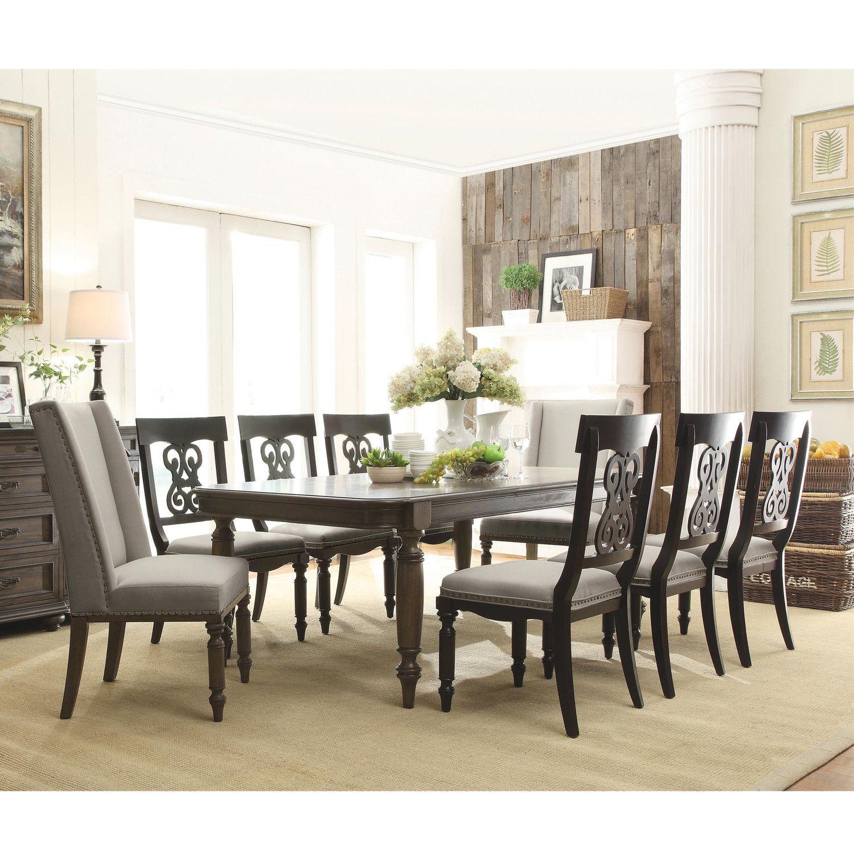 Riverside Furniture Belmeade 9 Piece Dining Set | patio | Pinterest ...