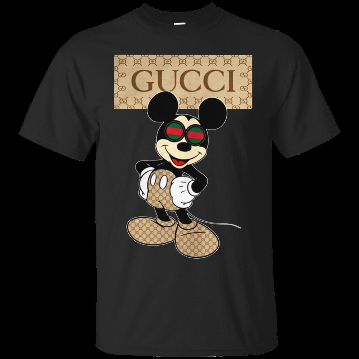 Disney Mickey Gucci Shirt Hoodie Tank Allbluetees Com Gucci Shirts Mens Tshirts Mickey Shirt
