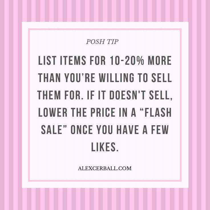 How to Sell on Poshmark 8 Simple Tips To Make More Sales