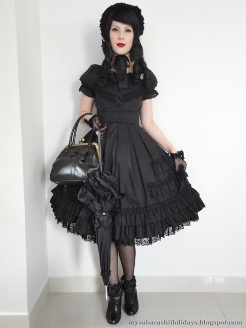 Simple gothic coord