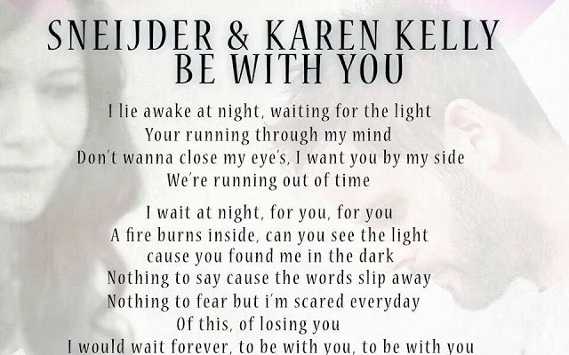 I would wait forever, To Be With You!