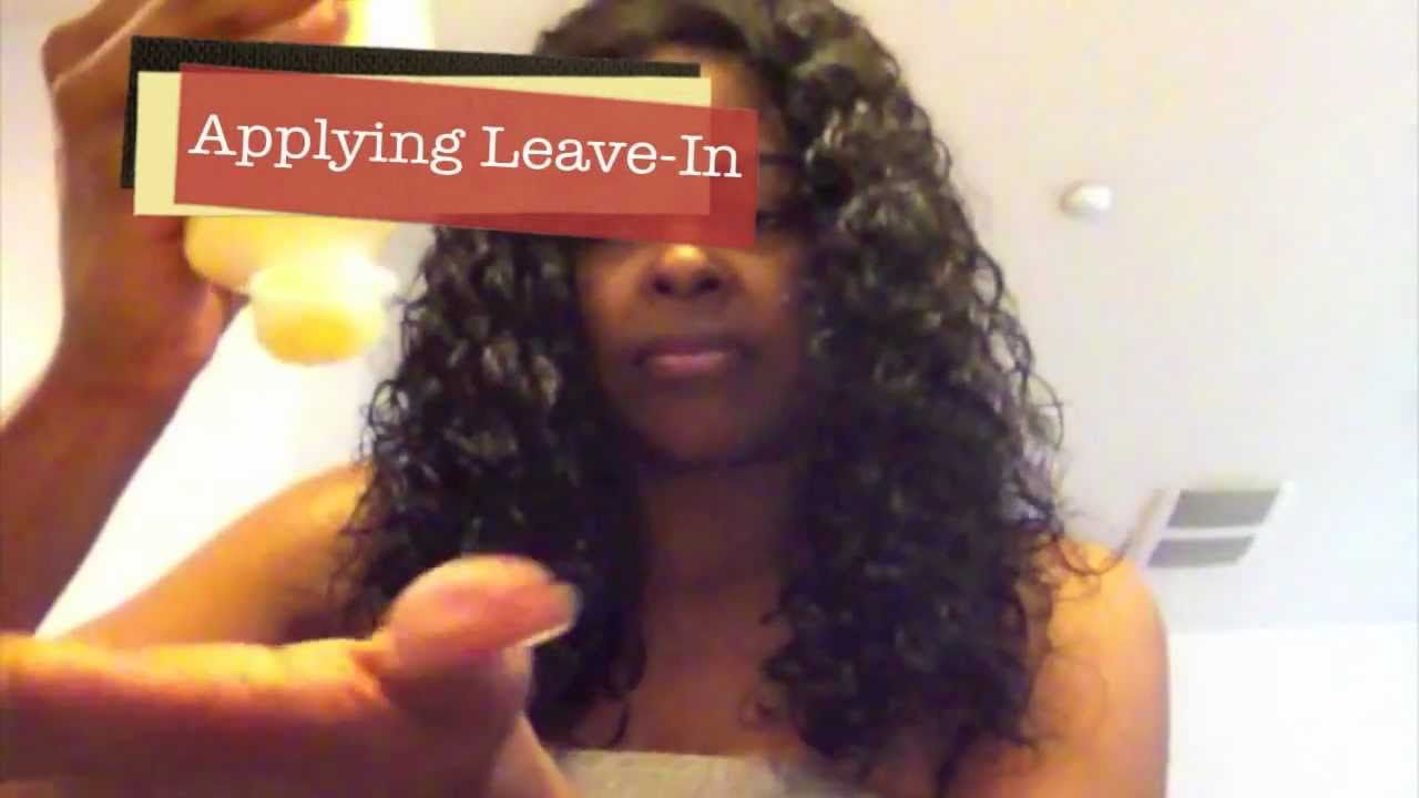 Tutorial How To Detangle Virgin Curly Hair And Revive Curly