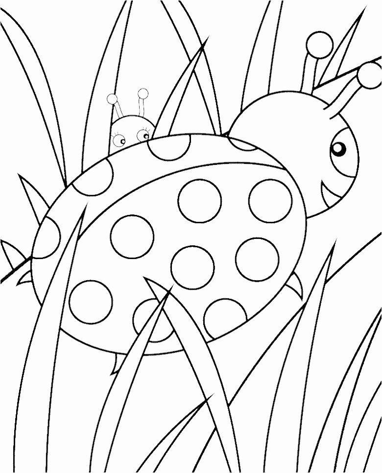 Lady Bug Coloring Page Beautiful Ladybug Printable Coloring Pages Ladybug Coloring Page Bug Coloring Pages Printable Coloring Book