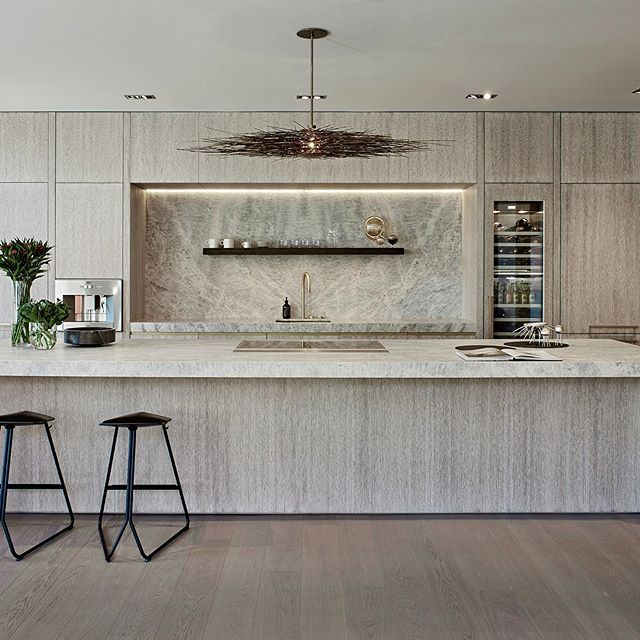Another One Of A Kind Project That We Worked On The First From Obumex To Be Installe Contemporary Kitchen Design Kitchen Decor Apartment Modern Kitchen Design
