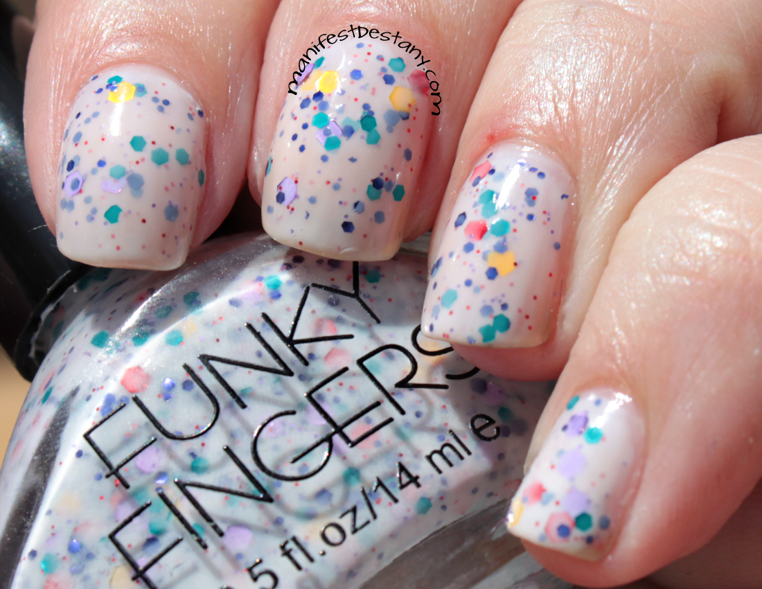 Manifest Destany: Funky Fingers Jawbreaker swatches+review | My ...