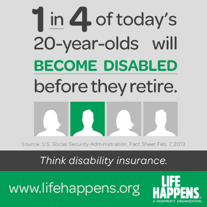 Think Disability Insurance. For More Information On Protecting Your Income  Or For A Quote,