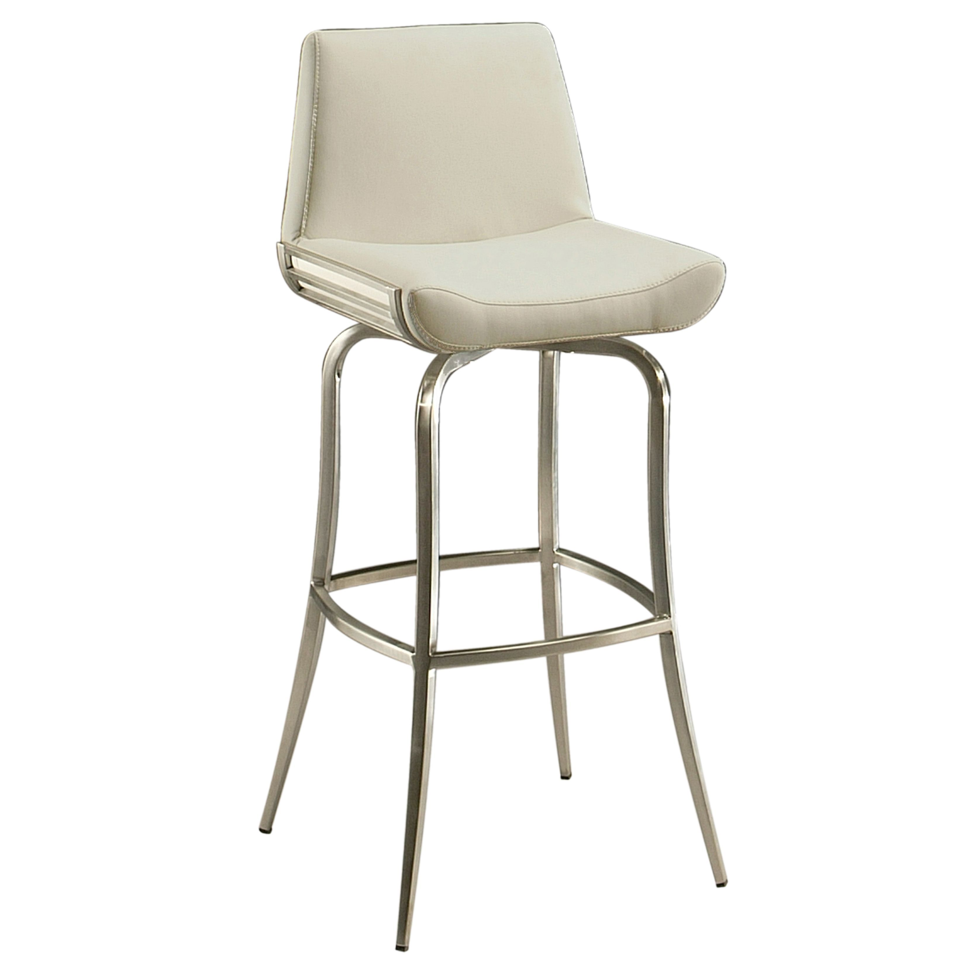 Remarkable Degorah Silver Off White Beige Stainless Steel Faux Theyellowbook Wood Chair Design Ideas Theyellowbookinfo