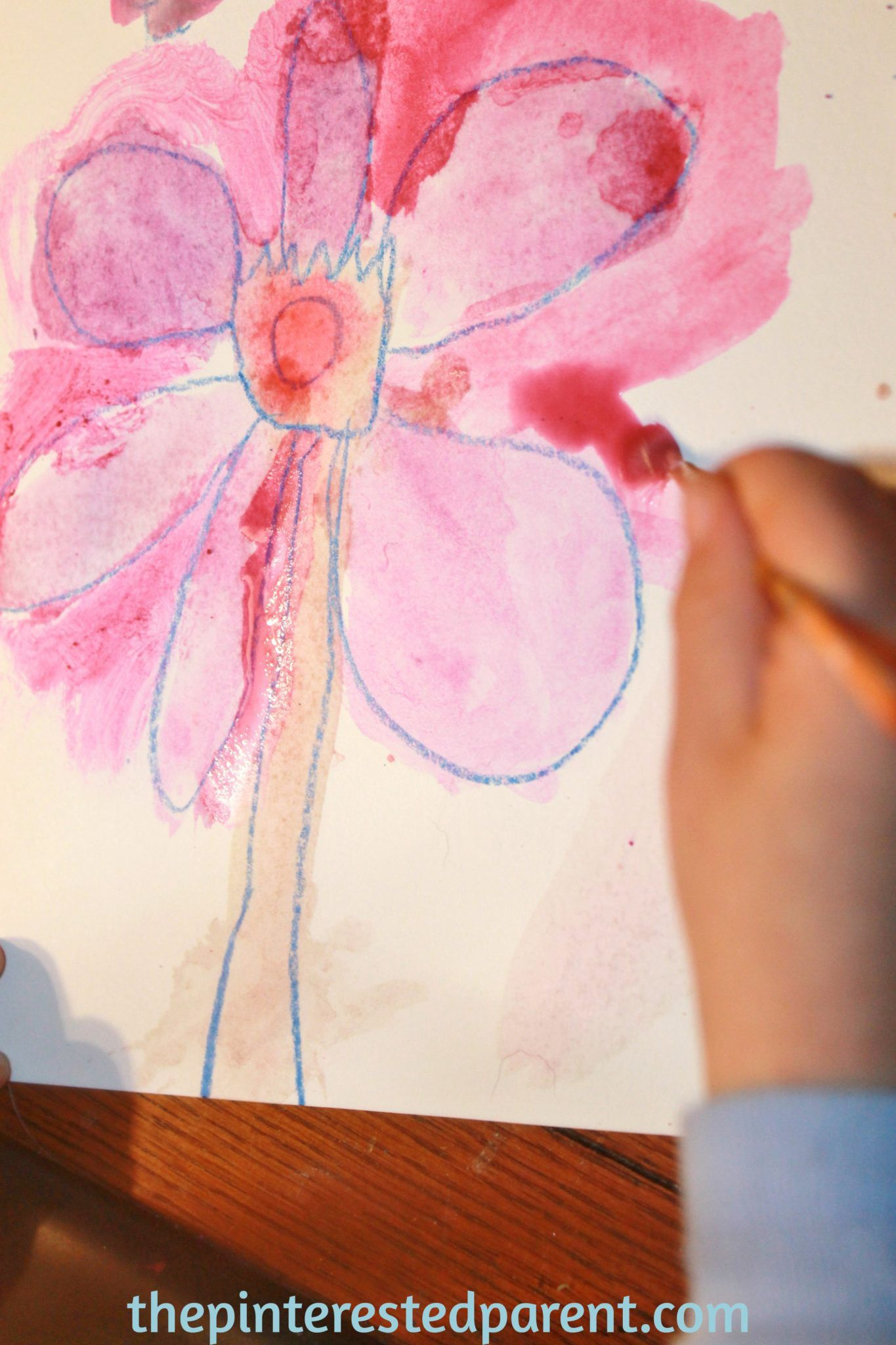 Photo of Georgia O'Keeffe Inspired Flower Paintings – The Pinterested Parent