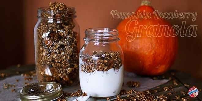 DIY: Pumpkin Inca Berry Granola (gluten free and sugar free)
