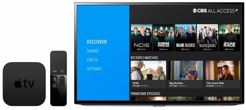 CBS All Access for Apple TV HandsOn Review Cbs all