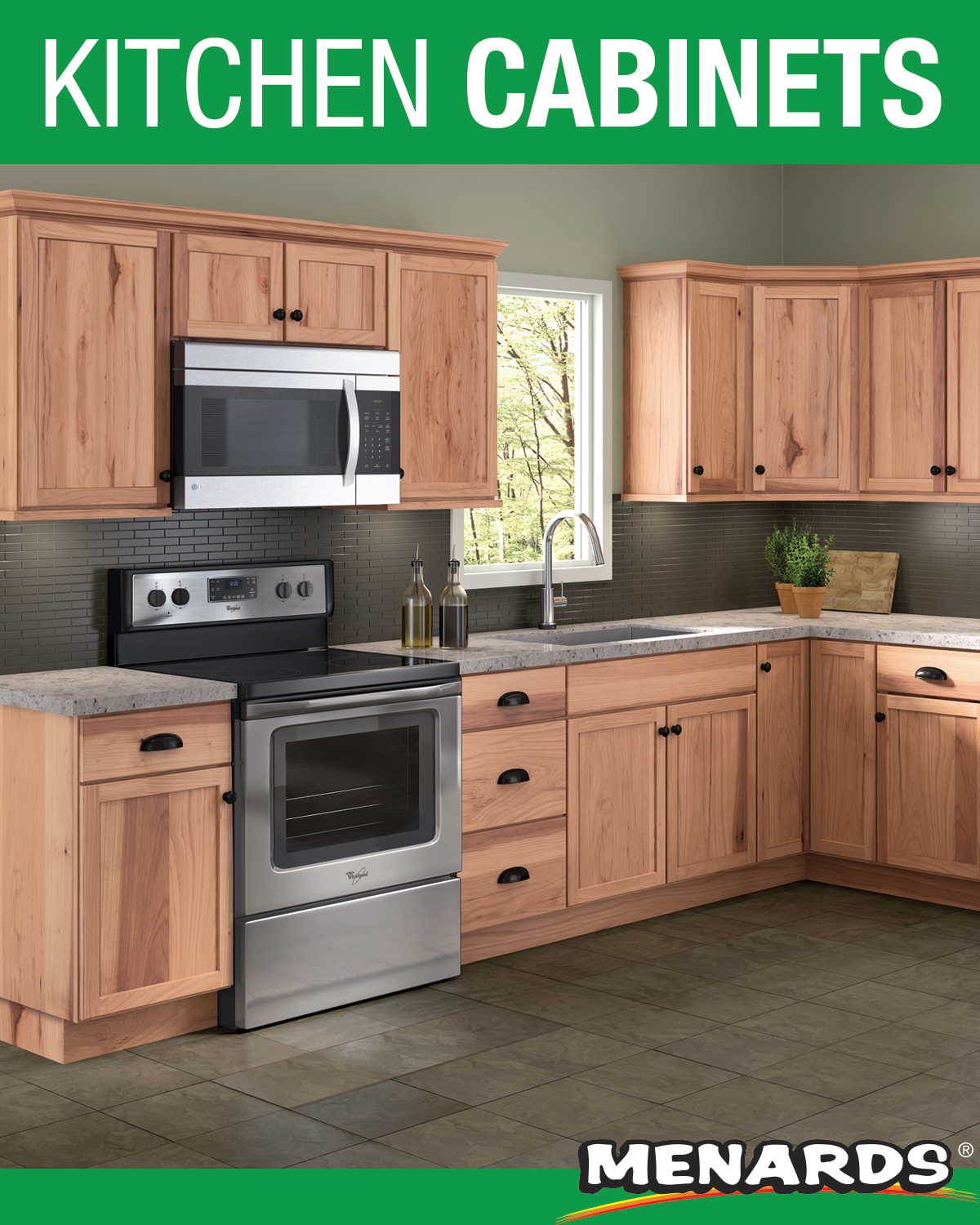Cardell Concepts 19 L Arbon Natural Kitchen Cabinets Only In 2020 Menards Kitchen Kitchen Cabinets Menards Kitchen Cabinets